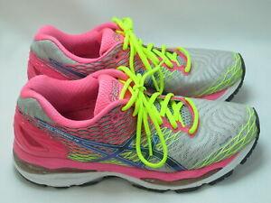 ASICS Gel Nimbus 18 Running Shoes Women's Size 8.5 M US Near Mint Condition PK