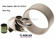 Solas SeaDoo 4-Tec 255 260 Impeller SRZ-CD-15/21A w/ Wear Ring GTX-L RXP-X RXT-X