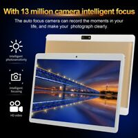 10.1'' Tablet PC Android Pad 6GB+128GB WiFi GPS Dual Camera Dual SIM Phablet