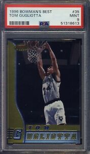 1996 Bowmans Best #35 Tom Gugliotta PSA 9 MINT NBA  Ships From CAN & USA