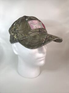 MAJOR LEAGUE BOWHUNTER LADIES FIT EMBROIDERED GREEN CAMO HAT NEVER STOP LEARNING