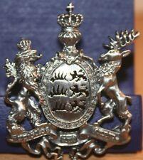 Pin Königreich Württemberg Furchtlos und Treu Wappen Metall Neu 204