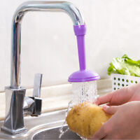 Kitchen Faucet Adjustable Tap Extender Saving Water Water Filter Sprink vg