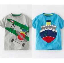 Boden Boys' Crew Neck Other T-Shirts, Tops & Shirts (2-16 Years)