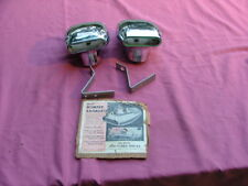1950-56 Ford, Mercury exhaust tips, NOS! tip, deflectors
