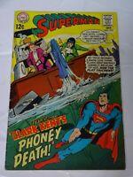 Superman Comics  #210 vtg comic DC comics Comic book
