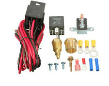 NEW 210-195 DEGREE ELECTRIC FAN THERMOSTAT WIRING RELAY SWITCH INSTALL KITS