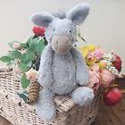 Jellycat Medium Grey BASHFUL DONKEY Pony Horse Soft Plush Toy Teddy Comforter