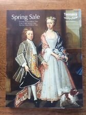 Tennants Spring Sale Catalogue 2009 + Results Sheet Antique Auction Auctioneers