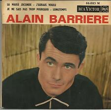 ALAIN BARRIERE La Marie Joconde EP RCA 1964