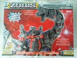 ZOIDS EZ-069 Seismosaurus BLACK Fuzors Ultimate Colours Brand New Sealed