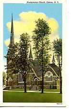 Presbyterian Church Building-Canton-New York-NY-Vintage Postcard