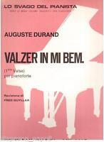 Durand: Walzer IN Mi Bemolle Für Klavier - Curci