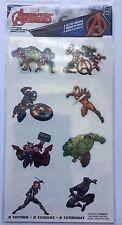 8 Marvel The Avengers Tattoos Party Favor Teacher Supply - Ironman Hulk Thor