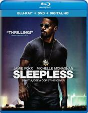 Sleepless (Blu-ray ONLY, 2017, NO Digital Copy)