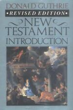 New Testament Introduction (Master Reference Collection) Guthrie, Donald Hardco