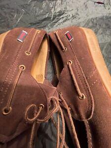 Men's sebago dockside moccasin shoes size 8