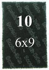 "Scotch Brite Heavy Duty Industrial Size Scour Pads 6""x9"" ~ Lot of 10"