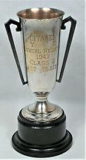 Vintage CITADEL YACHT CLUB 1947 Regatta Trophy - Military College South Carolina