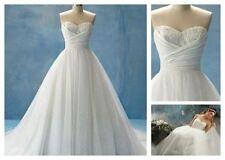 Satin Petite Sleeveless Wedding Dresses
