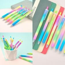 2Pcs Multi-color Watercolor Pens Gel Pens Stationery Kids Gift 0.5mm Randomly