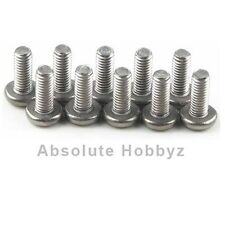 Kyosho 3x10mm Titanium Button Head Phillips Screw (10) - KYO1312