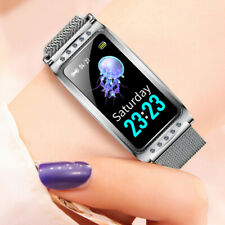 Women Girl Bluetooth Smart Watch Phone Mate Heart Rate For iOS Android iPhone