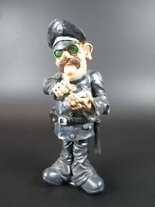 Policeman Policeman Funny, 15 CM, Occupation Profession Figurine Collection, New