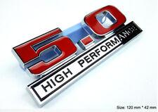 B135 5.0 high Performance Emblem Badge auto aufkleber 3D Mustang car Sticker