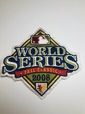 2008 World Series Philadelphia Phillies Game Official MLB Sleeve Jersey Patch (v