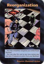 "Illuminati New World Order ""REORGANIZATION "" Card Game JKS1."