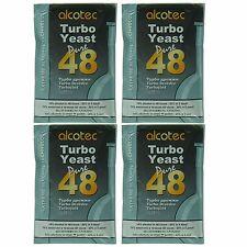Alcotec 48 Hour Turbo Distillers Yeast (Pack of 4)