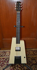 Rare Minty Howard Roberts designed guitar Chroma White Travel Vintage Fender clo