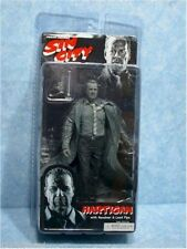 Hartigan Sin City Black and White Action Figure NIB NECA Bruce Willis