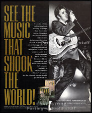 ELVIS: The Great Performances__Original 1990 Trade print AD/ promo advertisement