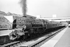 6 x 9 Railway Negative: 46235 'City of Coventry' at Coventry              29/241