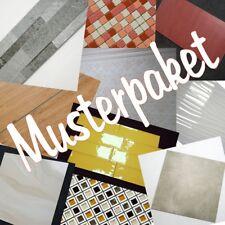 Musterpaket für 2 unterschiedliche Fliesen zu Ansicht Boden- Wand- Dekorfliese