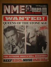 NME 2000 JUL 29 QUEENS OF THE STONE AGE REEF MUSE OASIS
