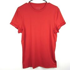 Patagonia Mens Daily Capilene Baselayer Shirt Size Small Red Short Sleeve