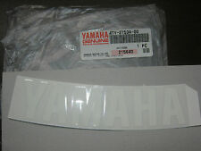 YAMAHA DECAL EMBLEM MM700 PZ500 SRX600 SX500 1997-2002 NOS OEM 4TV-2153A-00-00