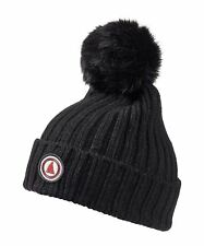 Musto Faux Fur Bobble Beanie - Black