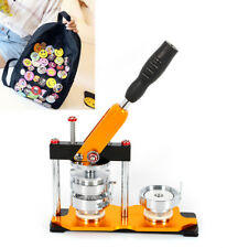 1 Inch Button Maker Kit Badge Press Machine Diy Tool With 100 Making Supplies
