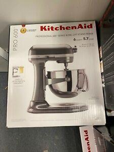 KitchenAid MIXER Pro 600 Design Series 6qt Stand Mixer KP26M1XPM *NEW*