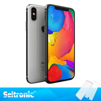 APPLE IPHONE X 64GB SILBER ( OHNE VERTRAG ) TOP HANDY SMARTPHONE - WIE NEU