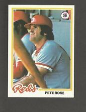1978 TOPPS # 20 PETE ROSE CINCINNATI REDS ACTUAL CARD SHOWN ALL TIME HIT LEADER
