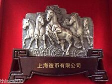 China 2014 600 Grams Silver Medal - Horse - Take the Lead