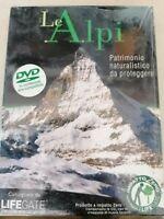 DVD documentario LE ALPI patrimonio naturalistico da proteggere  LIFEGATE  nuovo