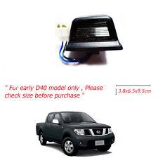 Fit 95+ Nissan D40 Navara Frontier Tail Rear Back Bumper License Lamp Light 1Pcs