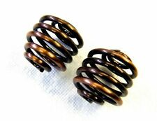 "2"" COPPER COIL SOLO SEAT SPRINGS PAIR FOR HARLEY CHOPPER BOBBER MOUNTING BRACKET"