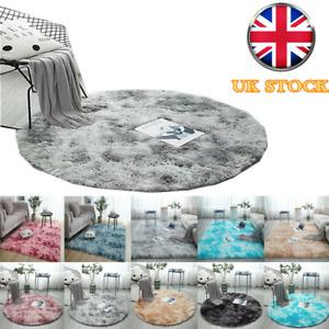 Fluffy Large Rugs Anti-Slip SHAGGY RUG Super Soft Floor Mat Living Room Bedroom